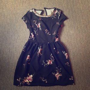 Xhilaration Floral Skater Dress